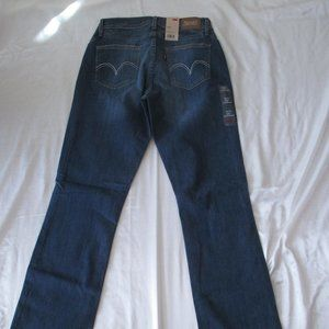 Levi's 529 Jeans 156260001 Curvy Bootcut Brand New